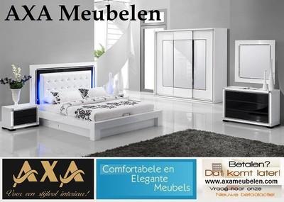 Meubelen hoogglans wit modern bergruimte slaapkamer meubels rotterdam - Moderne slaapkamer meubels ...