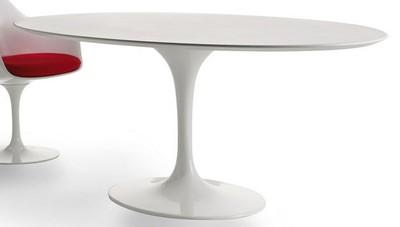 Meubelen tulip tafel ovaal for Tafel ovaal