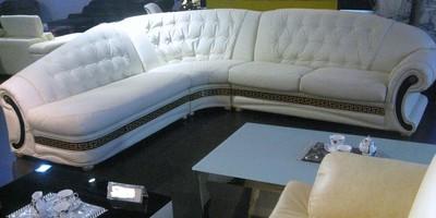 meubelen - Italiaanse versace hoekbanken voor 1650, - Advertenties.com