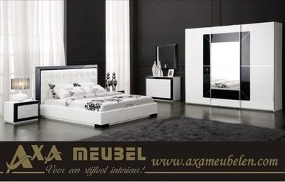 meubelen - Wit zwart slaapkamers AXA Meubelen den haag breda rotterdam ...