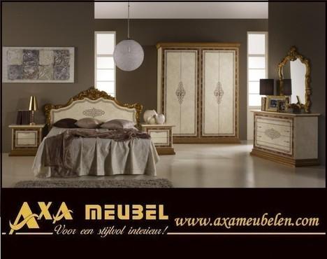 meubelen - Compleet hoogglans noten slaapk interieur kopen WOISS ...