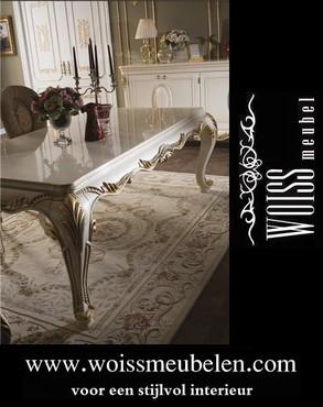 meubelen - WOISS Meubels hoogglans barok woonkamer inrichting ...