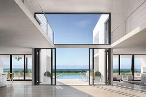 Vastgoed moderne luxe nieuwbouw villa s met zeezicht te for Villa de luxe moderne