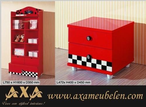 Autobed Slaapkamer : meubelen - Ferrari autobed racebed AXA meubels ...