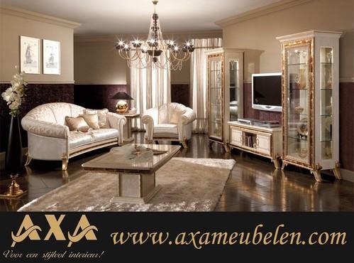 Meubelen luxe italiaanse hoogglans woonkamer woiss meubelen vitrine kasten - Eigentijdse woonkamer decoratie ...
