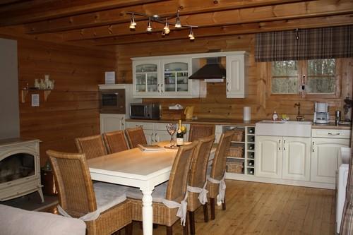 vakantie finse chalet voor 6 2 personen met sauna te barvaux durbuy. Black Bedroom Furniture Sets. Home Design Ideas