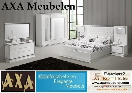بوفه+MDF meubelen - Volledig MDF kwaliteit hoogglans wit woonkamer ...