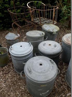 Tuin en tuinmachines gegalvaniseerde steriliseerketels en kuipen per stuk - Advertentie stuk ...