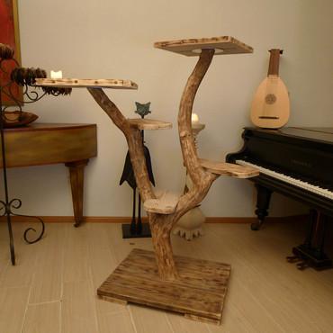 dieren bijzondere krabpalen uit natuurhout. Black Bedroom Furniture Sets. Home Design Ideas
