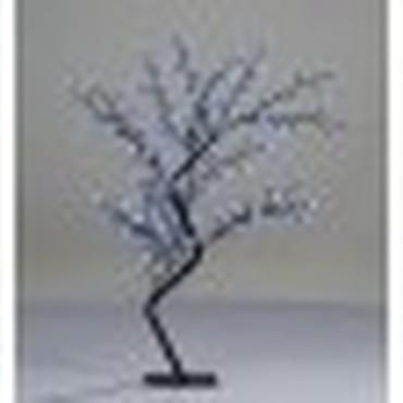 allerlei - Kunst boom met LED verlichting blauw 120 cm Deze blauw ...