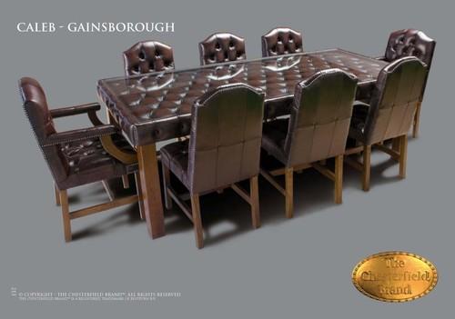 Meubelen chesterfield showroom eettafel eetkamerstoelen for Tweedehands eetkamerstoelen